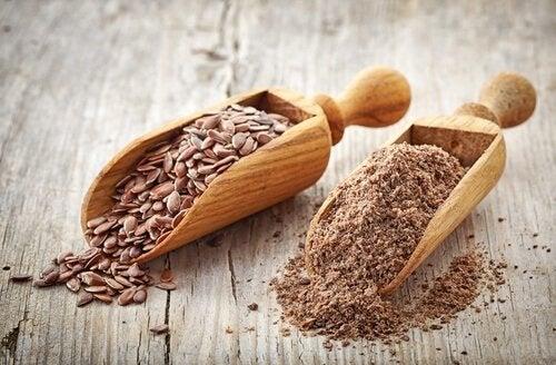 ezilmiş keten tohumu mide ülserine karşı iyi gelir