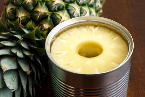 konserve ananas