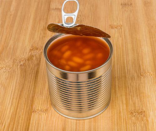 konserve kuru fasulye