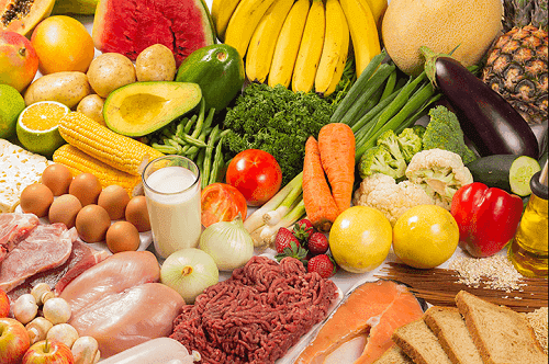 meyve sebze et çeşitleri