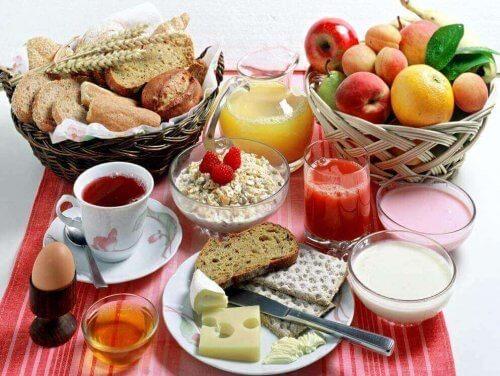sağlıklı kahvaltı çeşitleri