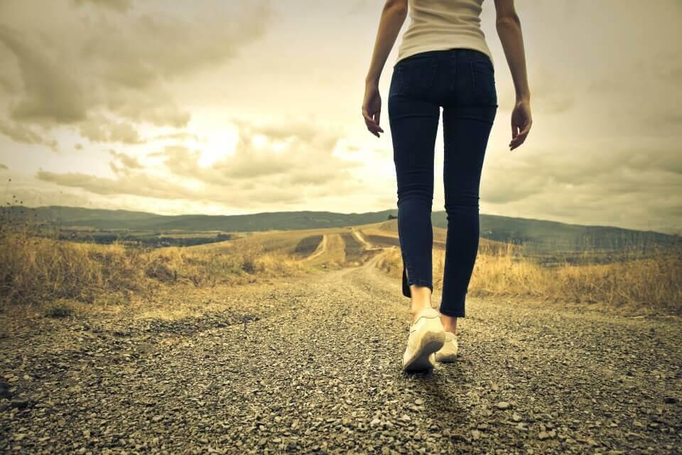 yol ve ayaklar