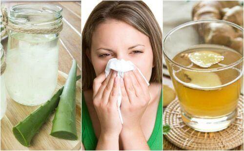 Alerjik Rinit İçin 5 Doğal Çözüm