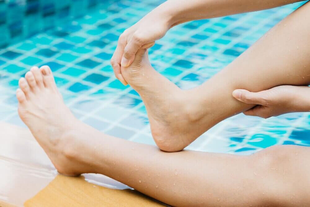 ayak parmaklarını esnetme egzersizi