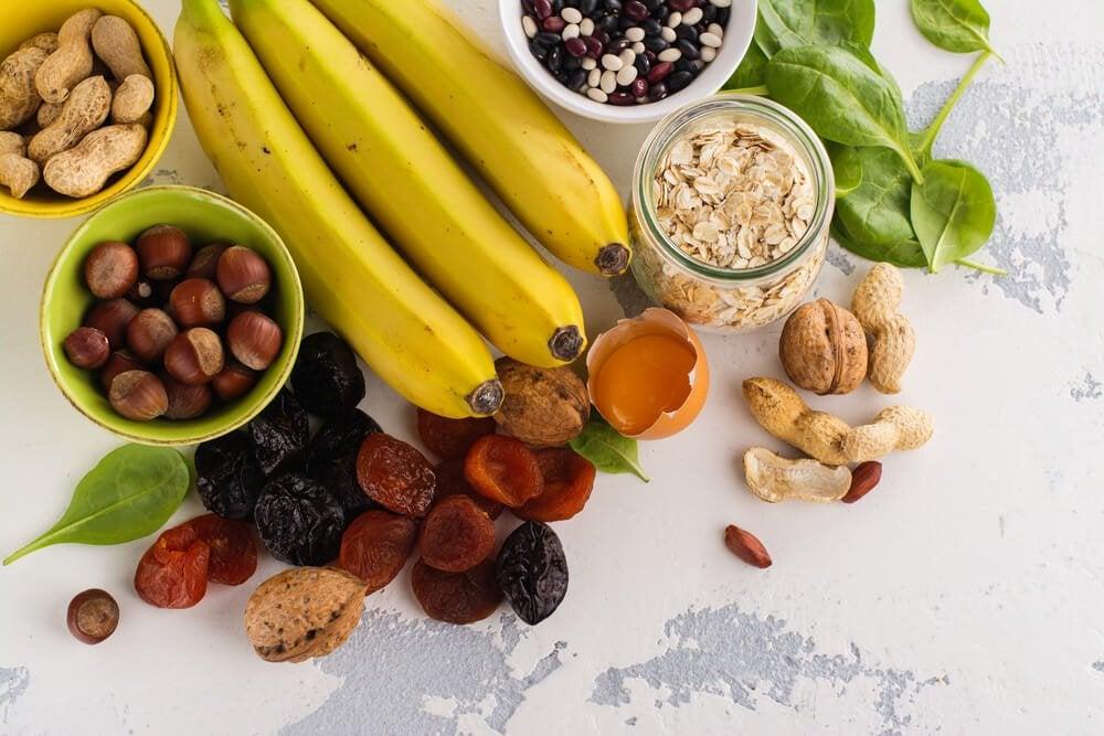 potasyum bakımından zengin meyveler