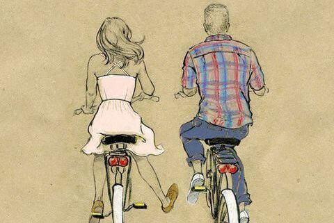 beraber bisiklete binmek
