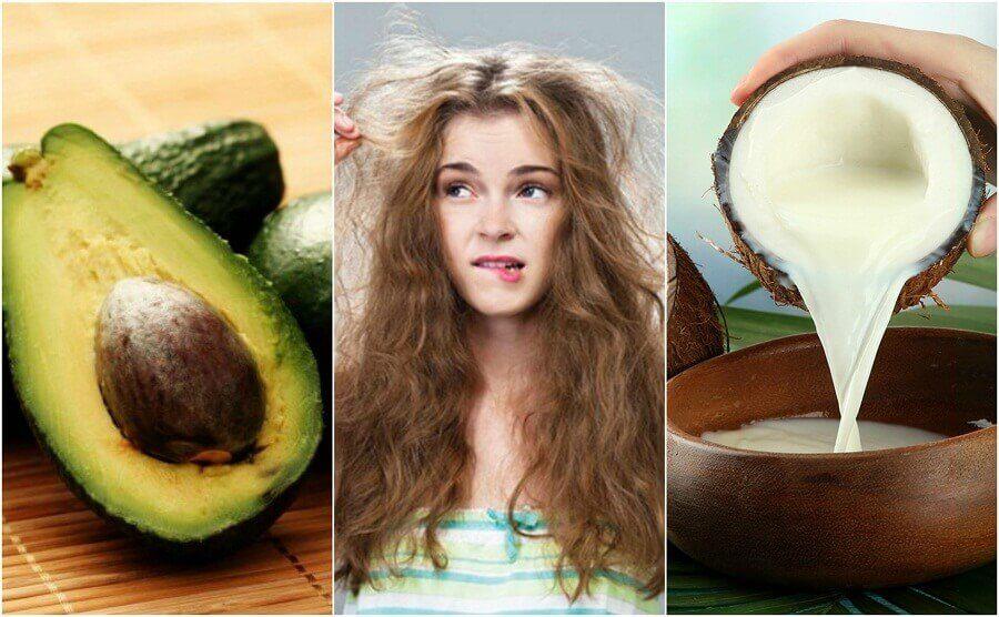Kabarık Saçlar için En İyi 5 Doğal Ürün