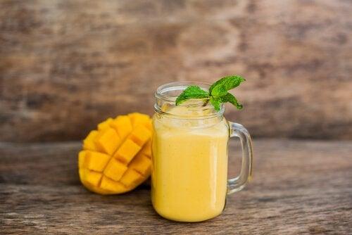 afrika mangosu yemek