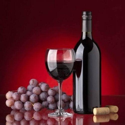 üzüm kadeh mantar İyi şarap