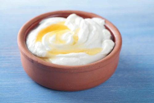 ballı yoğurt