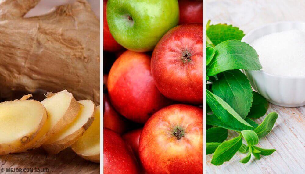 Aşırı Yemeyi Zencefil, Stevia ve Elma İle Telafi Edebilirsiniz