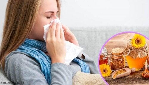 Soğuk Algınlığı ve Gribin İlk Belirtileri Baş Gösterdiğinde Propolis Alın