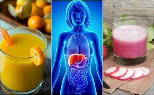 Yağlı Karaciğer Hastalığı İle Savaşan 5 Sağlıklı İçecek