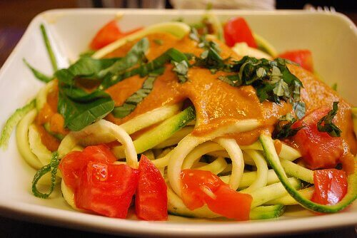 spagetti ve karides