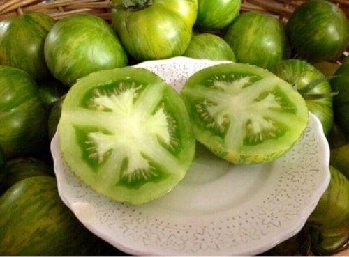yeşil domatesler