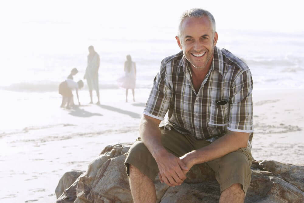 plajda mutlu adam