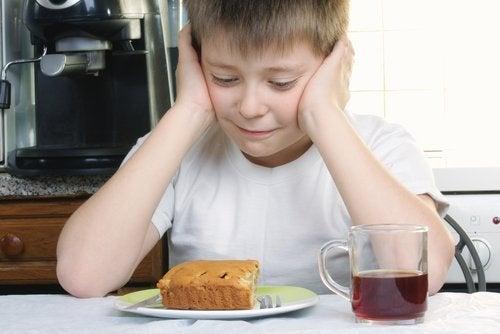 kek sevmeyen çocuk