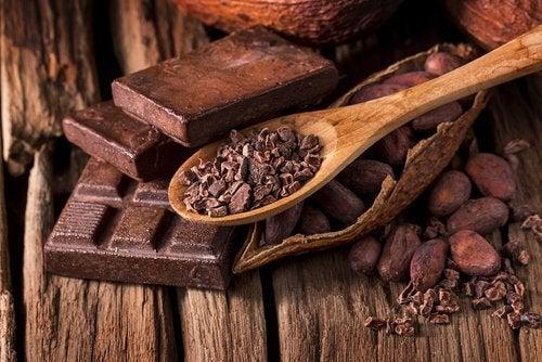 bir kaşık çikolata