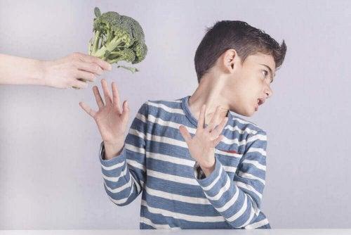 brokoli istemeyen çocuk