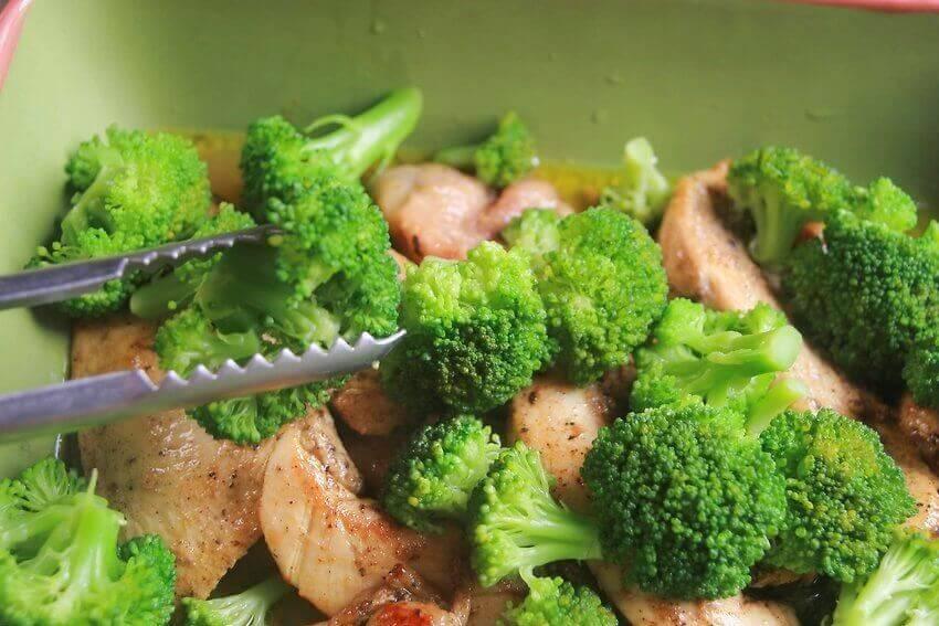 brokoli ve tavuk