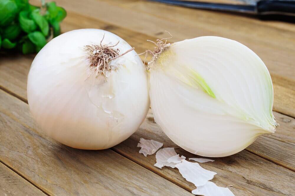 dilimlenmiş soğan