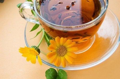 kadife çiçeği çayı