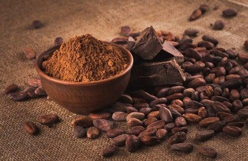 bir kase toz kakao