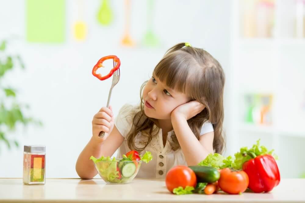 Sebze Yemeyi Reddeden Çocuklar
