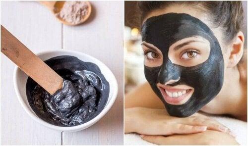 Evde Siyah Yüz Maskesi Nasıl Yapılır