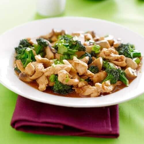 tavuk brokoli yemek