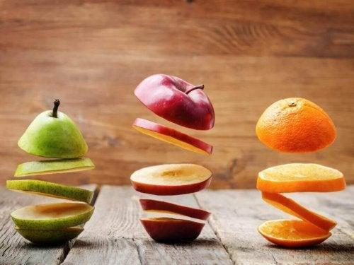 meyve dilimleri ve kanseri önlemek