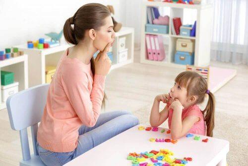 anne kızı konuşma egzersizi