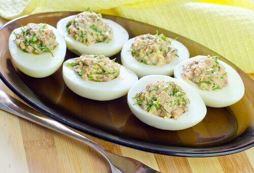 bir tabak yumurta