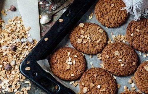diyet krizleri için kurabiye tarifi