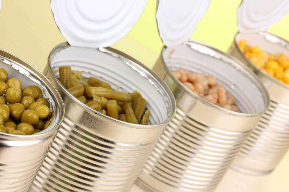 konserve ürünler