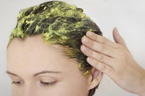 Kuru saç şampuan