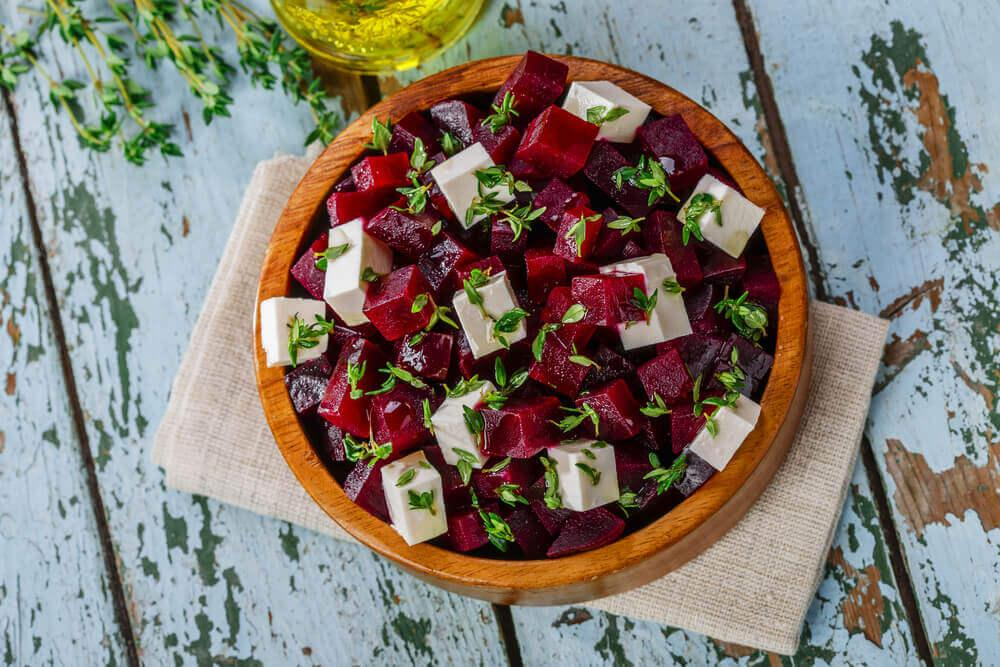 Lezzetli Bir Pancar Salatası