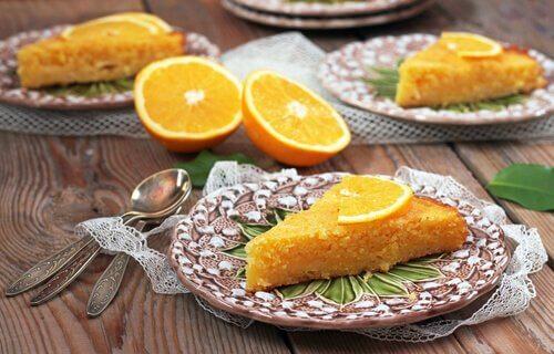 Sağlıklı Malzemeler İçeren Portakallı Kek Tarifleri