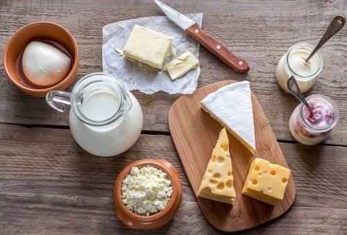 süt ve ürünleri