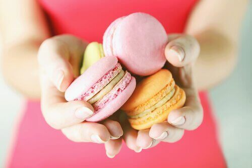 tatlı zaafı ve mini tatlılar