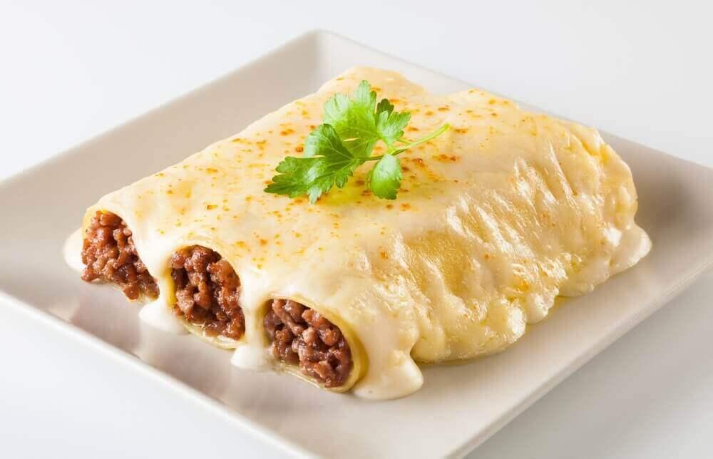 Tavuklu Cannelloni Tarifi
