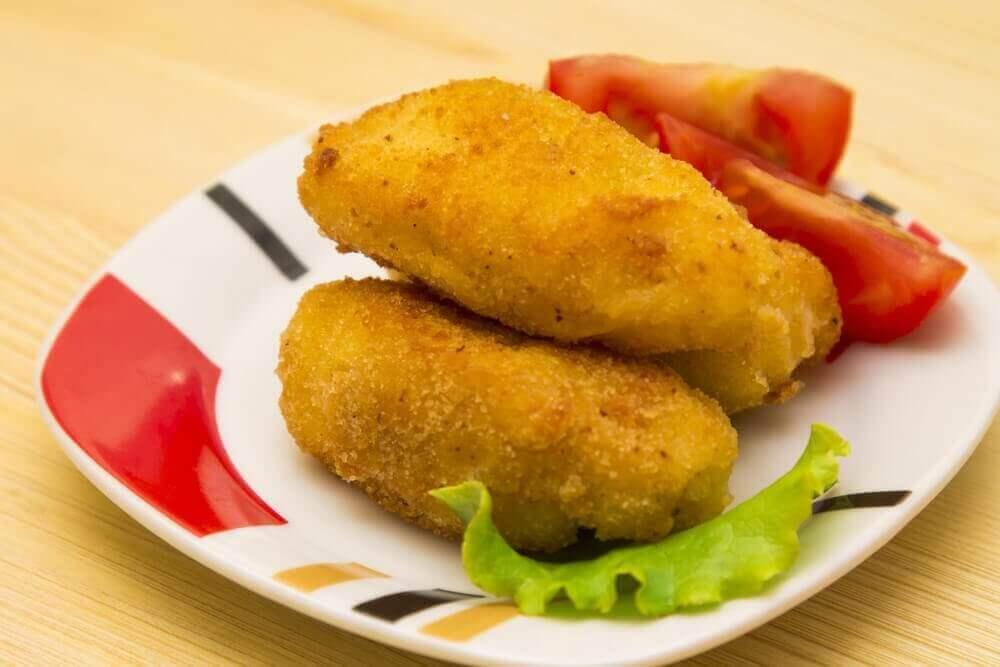 Peynirli Ton Balıklı Kroket Tarifi