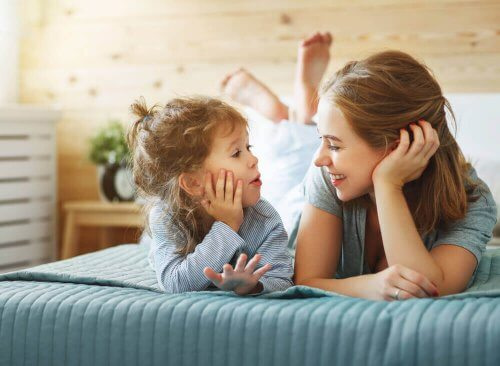 yatak anne küçük kızı sohbet