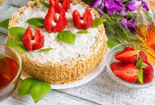 cheesecake çilek