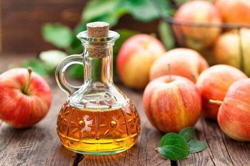 elma sirkesi ve elma