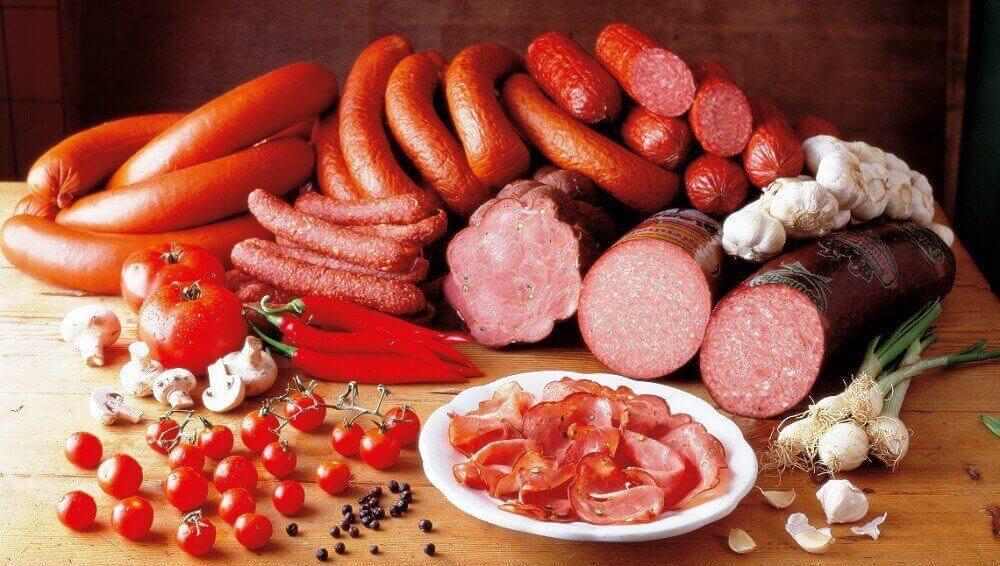 işlenmiş etler örneği