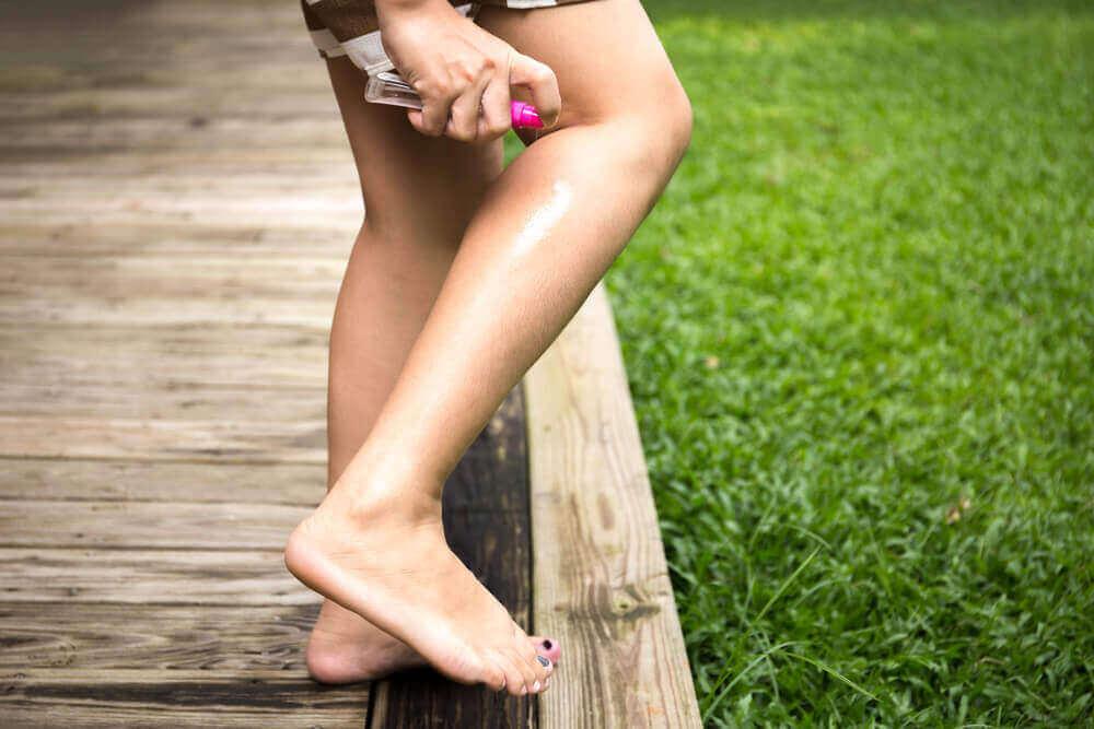 kadın bacak savar