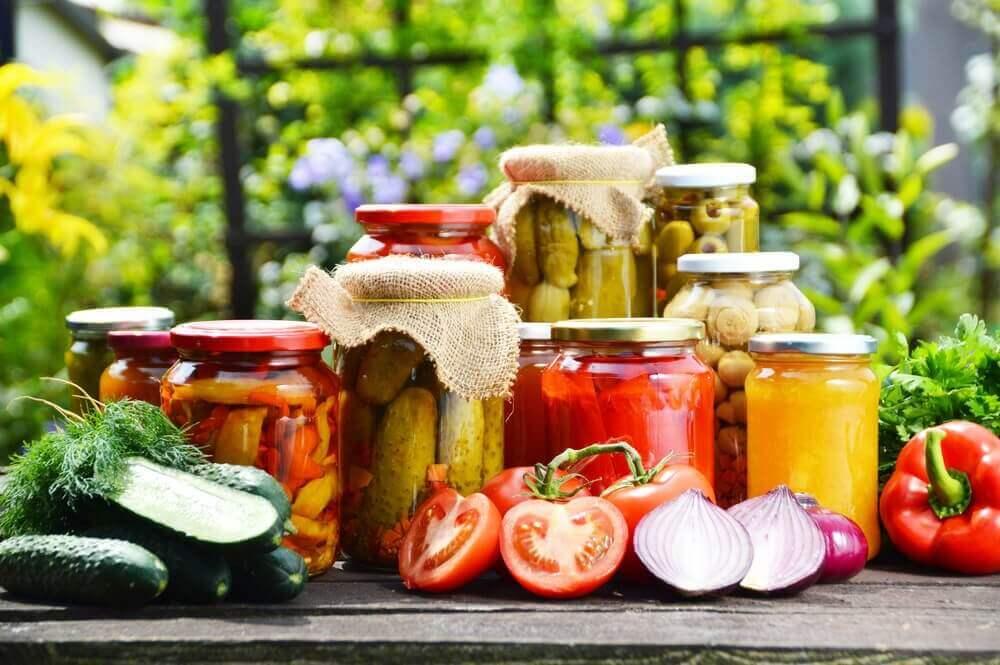 kavanozda sağlıklı besinler
