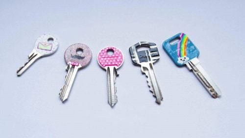 renkli anahtarlar
