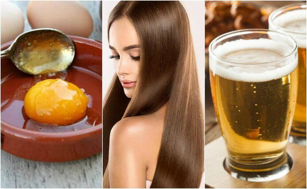 İpeksi ve Sağlıklı Saçlar İçin Yumurta ve Bira Tedavisi